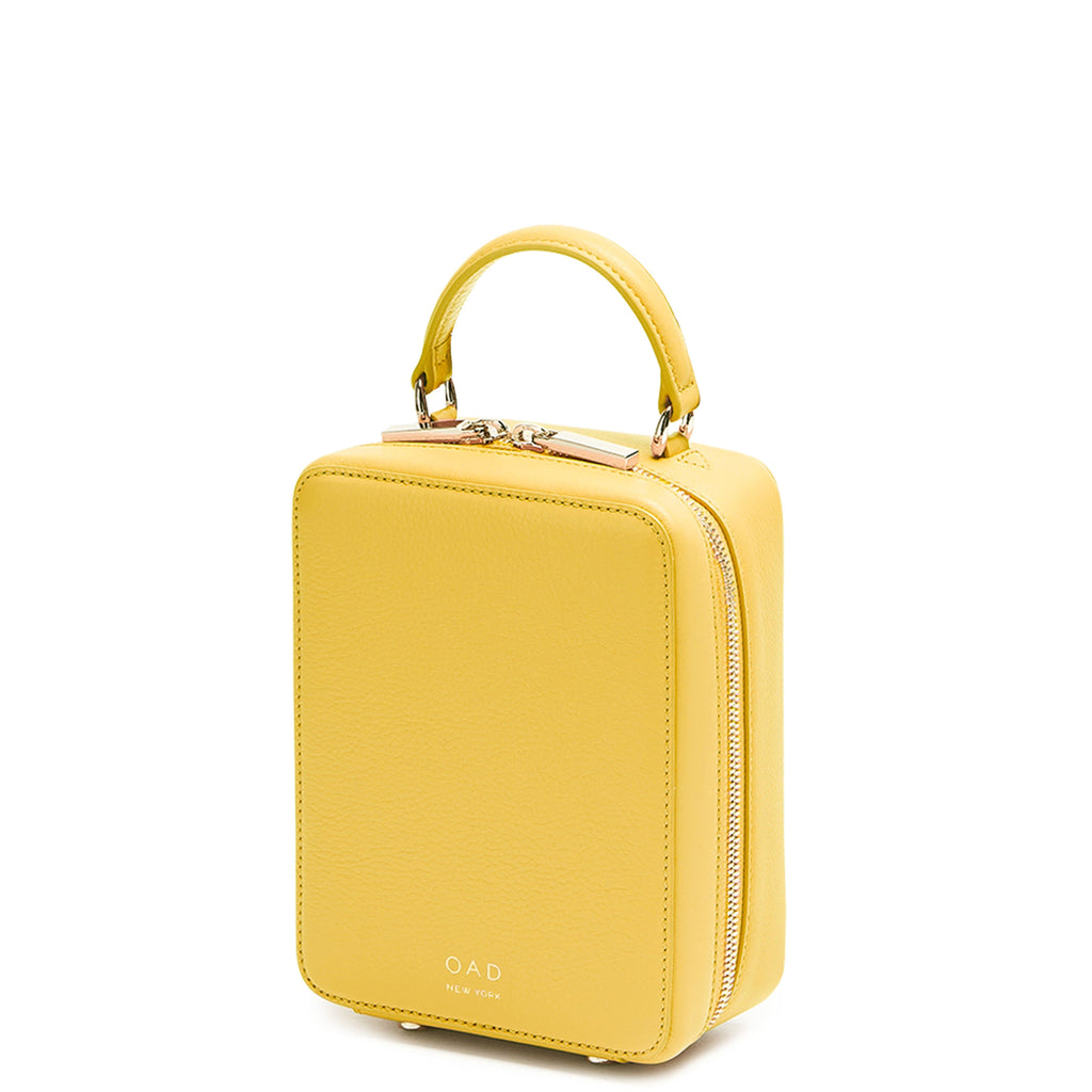 Mini Box Crossbody - Mimosa - OAD NEW YORK