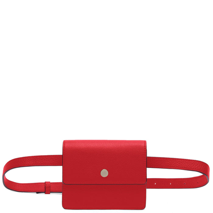 Mini Messenger Belt Bag - Rouge - OAD NEW YORK