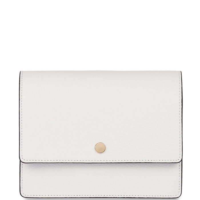 Mini Messenger Courier - Bright White - OAD NEW YORK