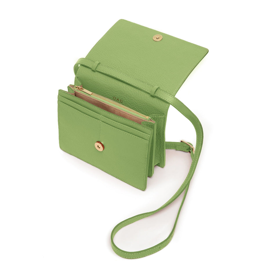 Mini Messenger Courier - Sage - OAD NEW YORK