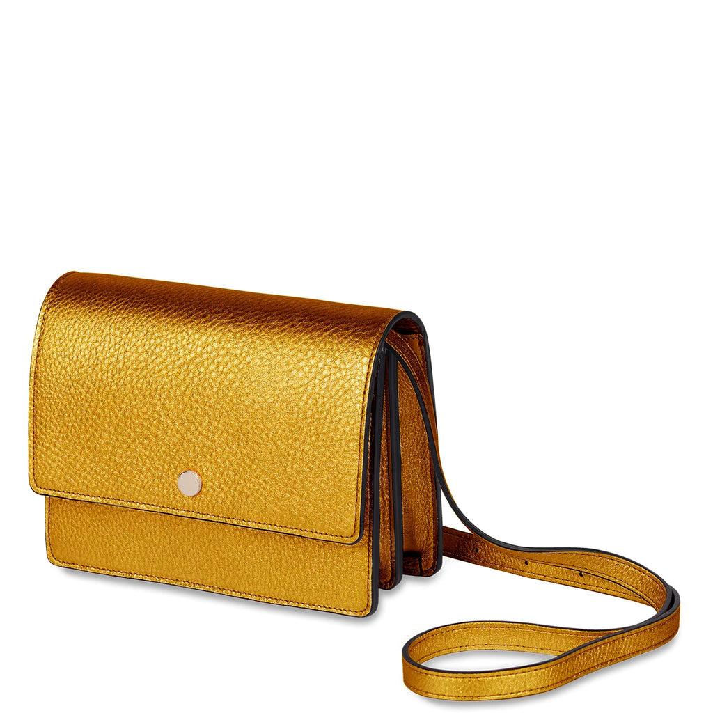 Mini Messenger Courier - Honey Gold - OAD NEW YORK