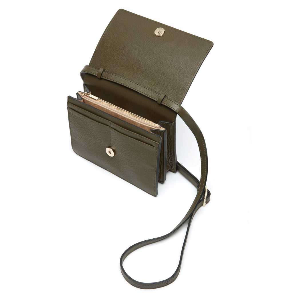 Mini Messenger Courier - Moss - OAD NEW YORK