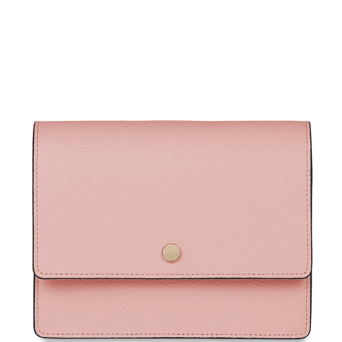 Mini Messenger Courier - Rose Pink