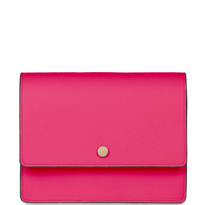 Mini Messenger Courier - Ruby Pink - OAD NEW YORK