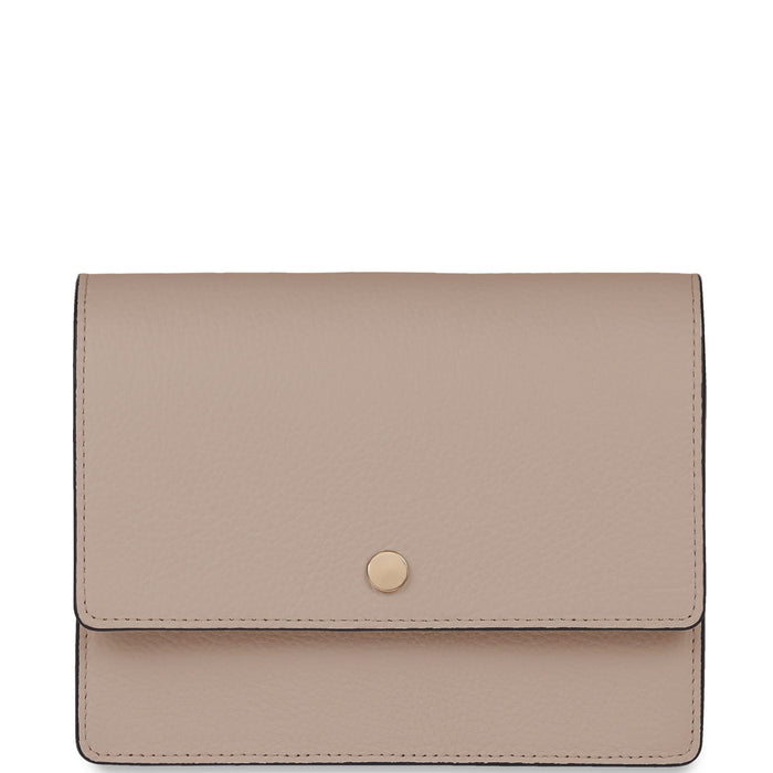 Mini Messenger Courier - Taupe - OAD NEW YORK