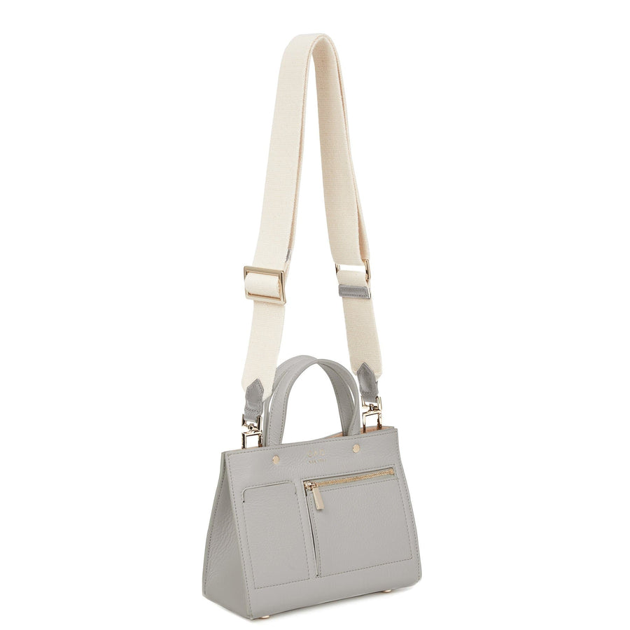 Mini Pocket Tote - Cool Grey - OAD NEW YORK