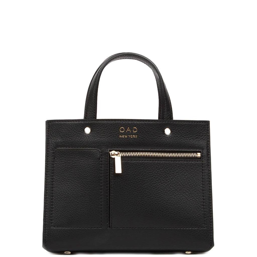 Mini Pocket Tote - True Black