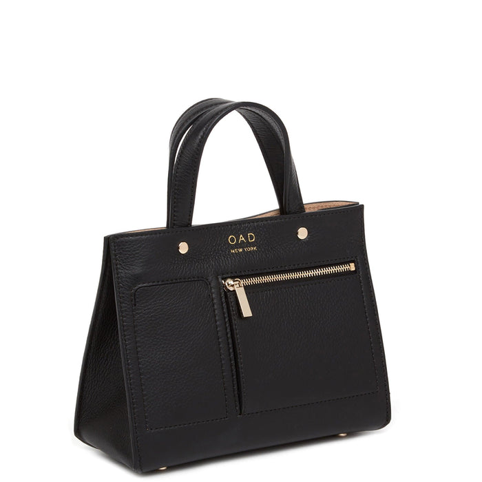 Mini Pocket Tote - True Black - OAD NEW YORK