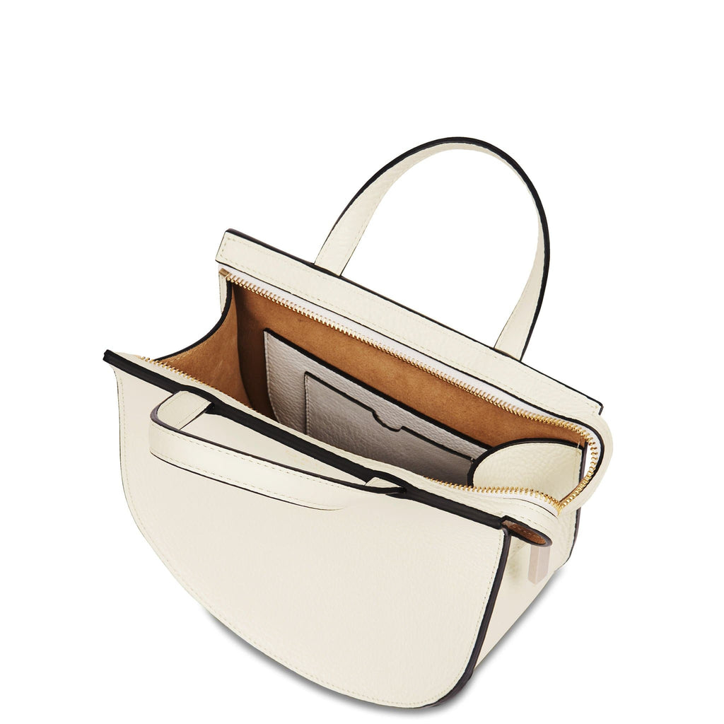 Mini Saddle Courier - Creme