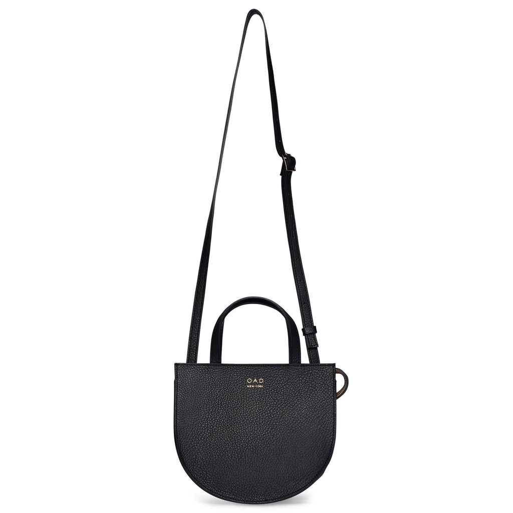Mini Saddle Courier - True Black - OAD NEW YORK