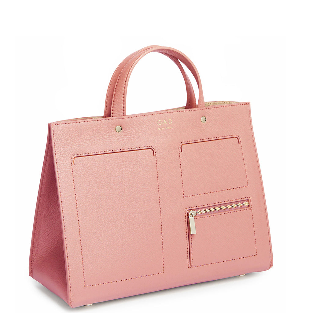 Pocket Tote - Blush