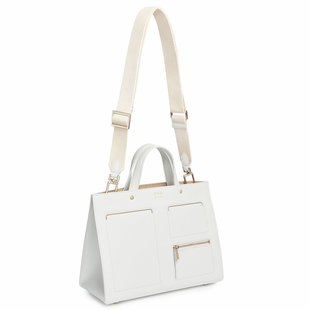 Pocket Tote - Bright White