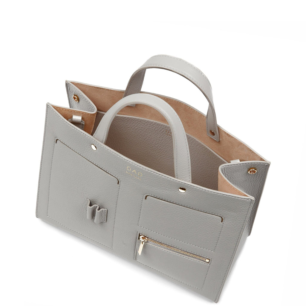 Pocket Tote - Cool Grey