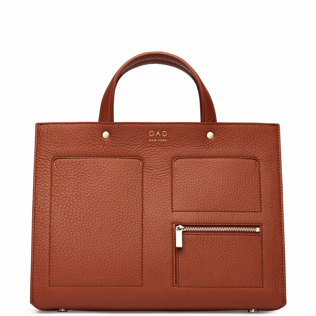 Pocket Tote - Sienna - OAD NEW YORK