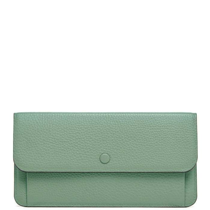 Slim Wallet Clutch - Celadon - OAD NEW YORK