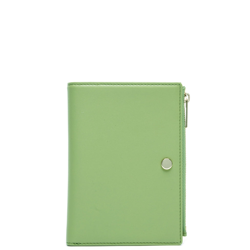 Calf Everywhere Travel Wallet - Sage