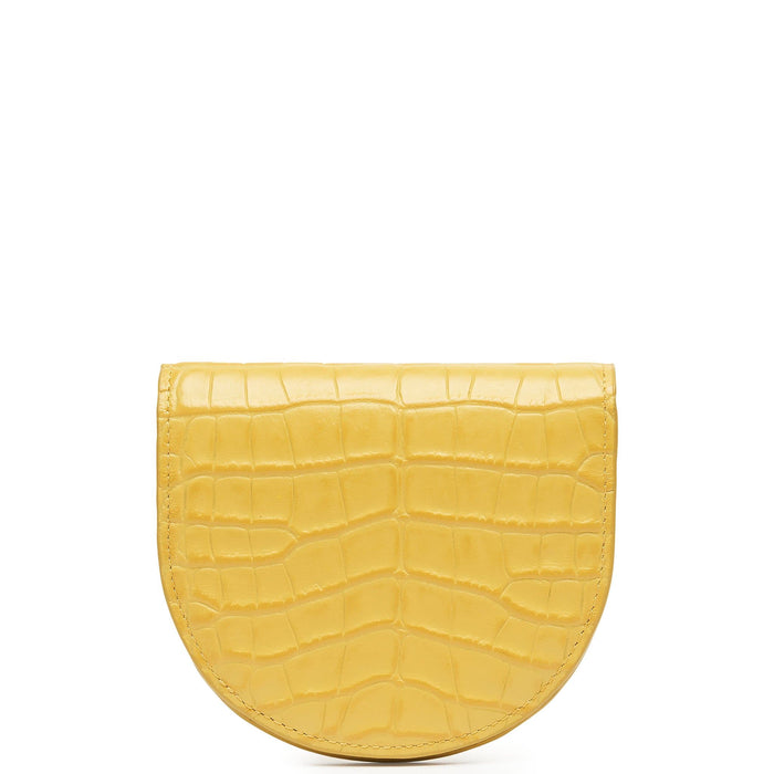 Croco Luna Wallet - Mimosa - OAD NEW YORK
