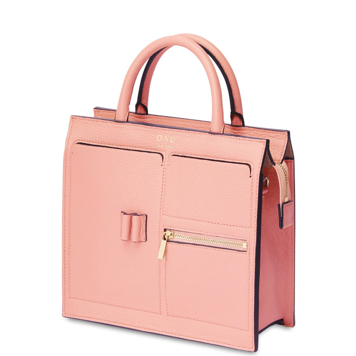 Mini Kit Zip Satchel - Blush - OAD NEW YORK