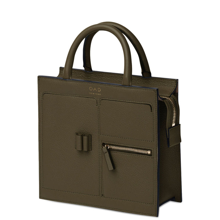 Mini Kit Zip Satchel - Moss - OAD NEW YORK