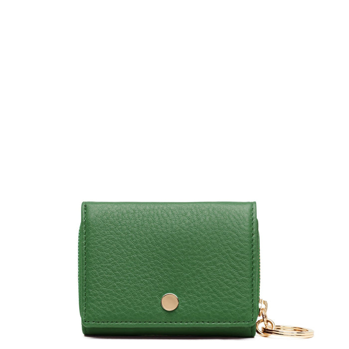 Mini Zip Around Wallet - Fern