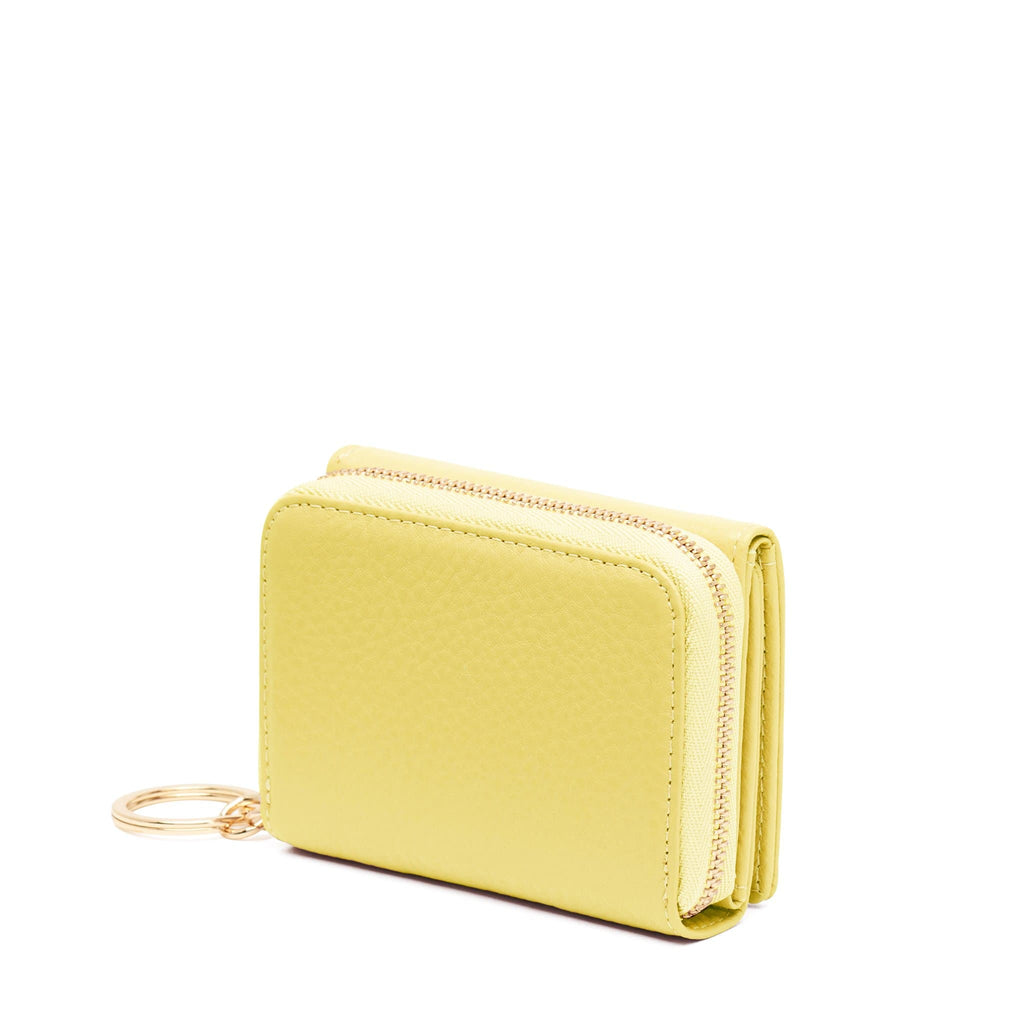 Mini Zip Around Wallet - Lime
