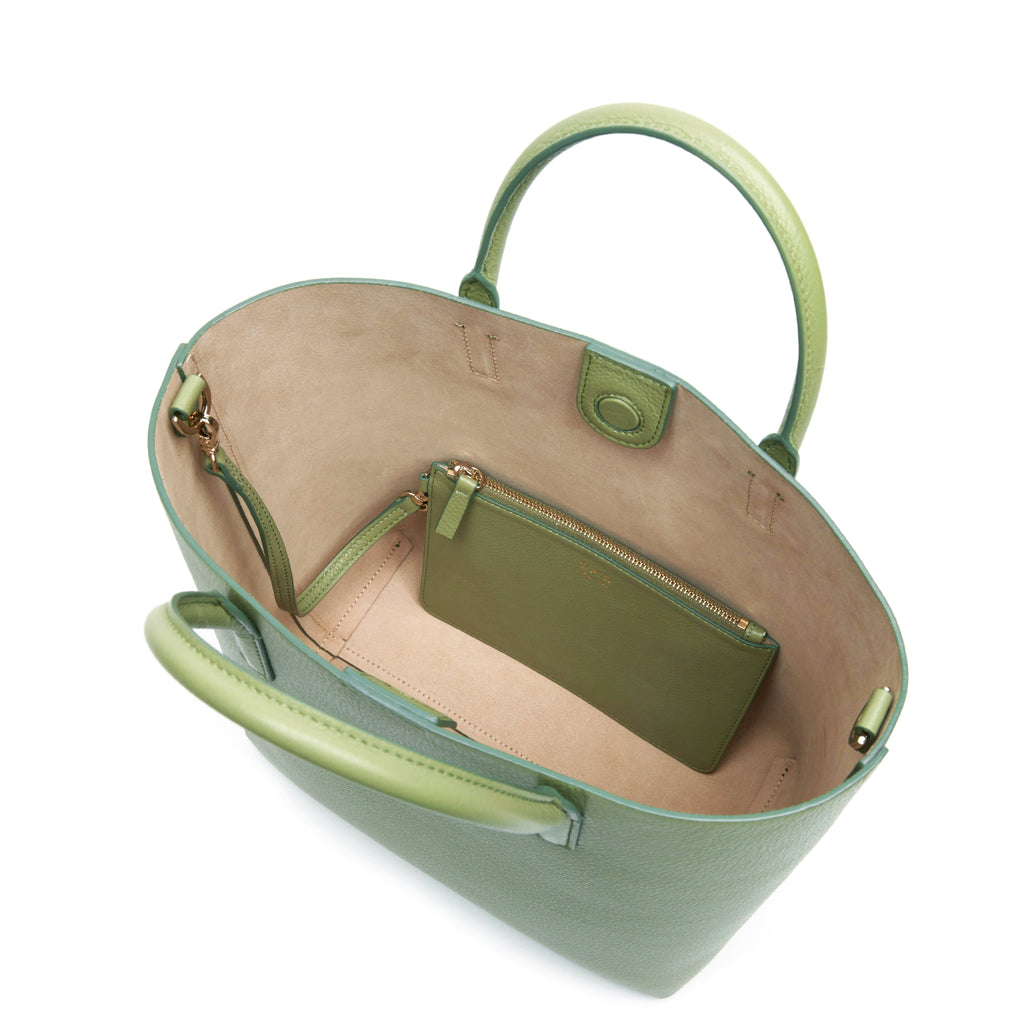 Tall Carryall Tote - Sage
