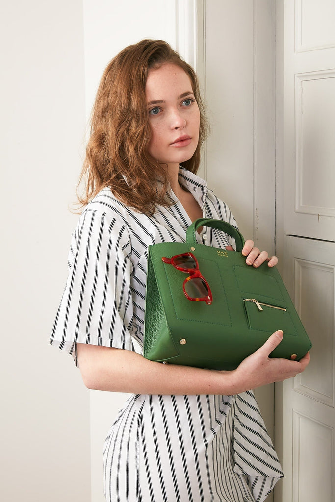 Pocket Tote - Fern