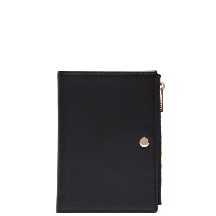 Calf Everywhere Travel Wallet - True Black - OAD NEW YORK