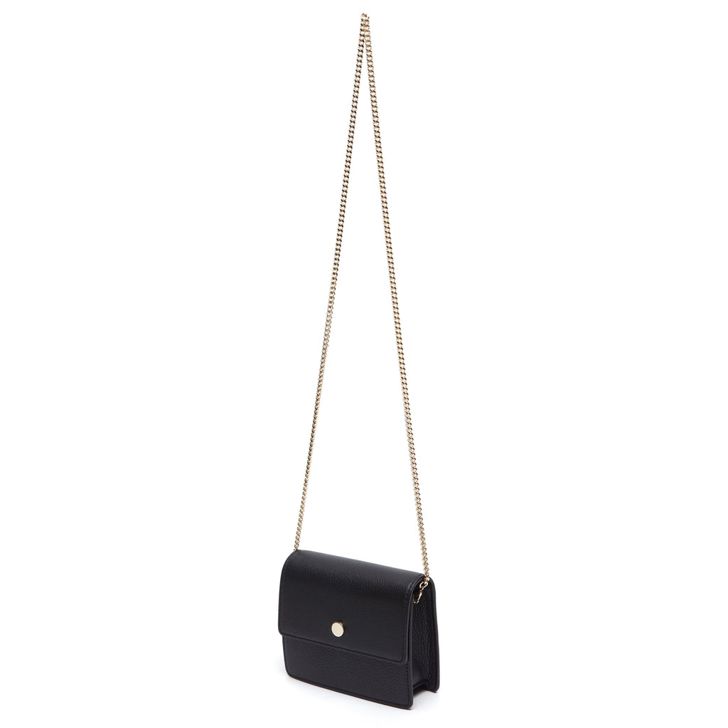 Mini Messenger Belt Bag - True Black - OAD NEW YORK