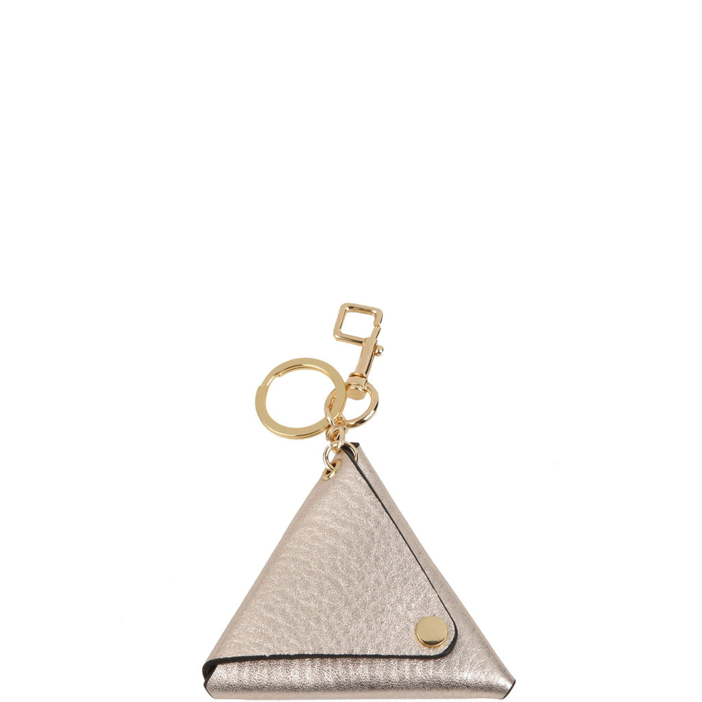 Triangle Key Ring - Rose Gold - OAD NEW YORK - 1