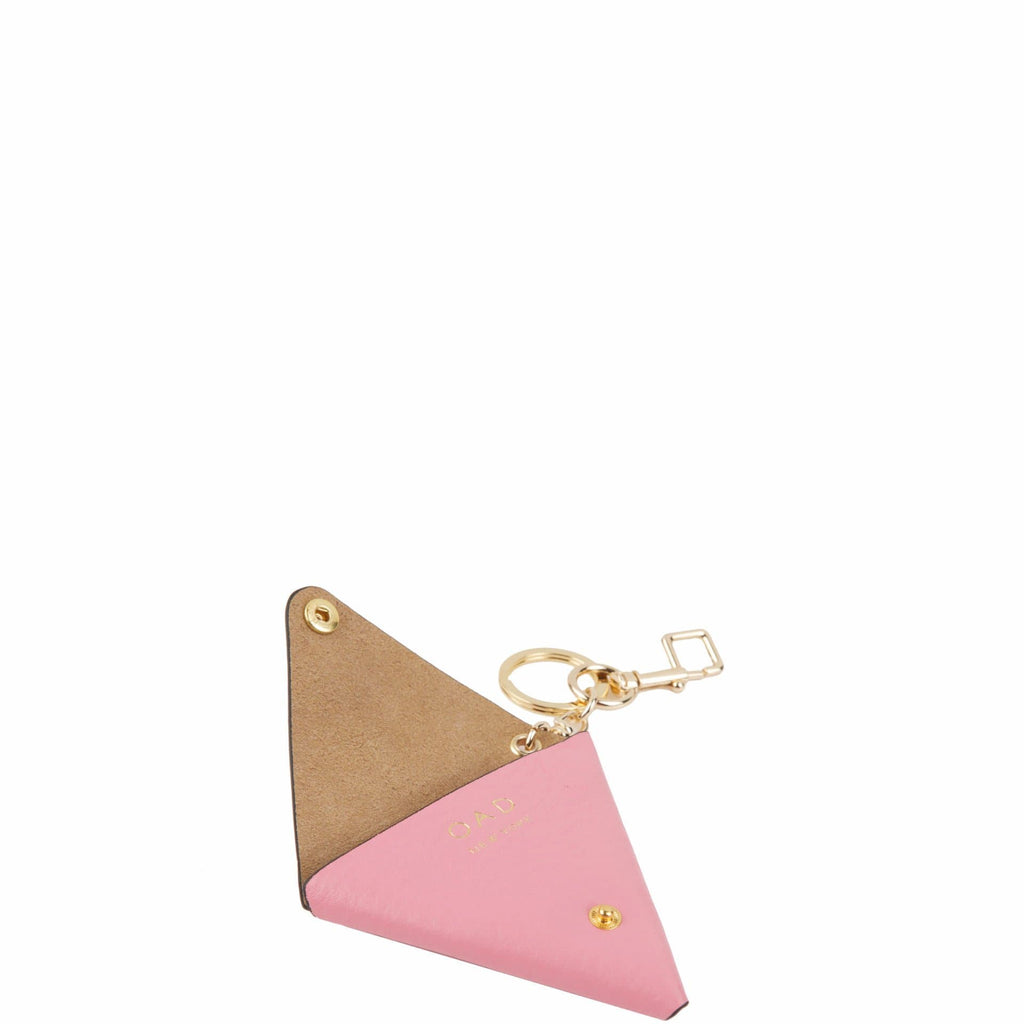 Triangle Key Ring - Candy Pink - OAD NEW YORK - 2