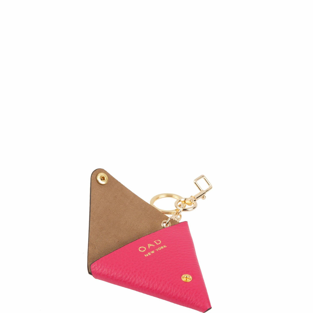 Triangle Key Ring - Fushia - OAD NEW YORK - 2