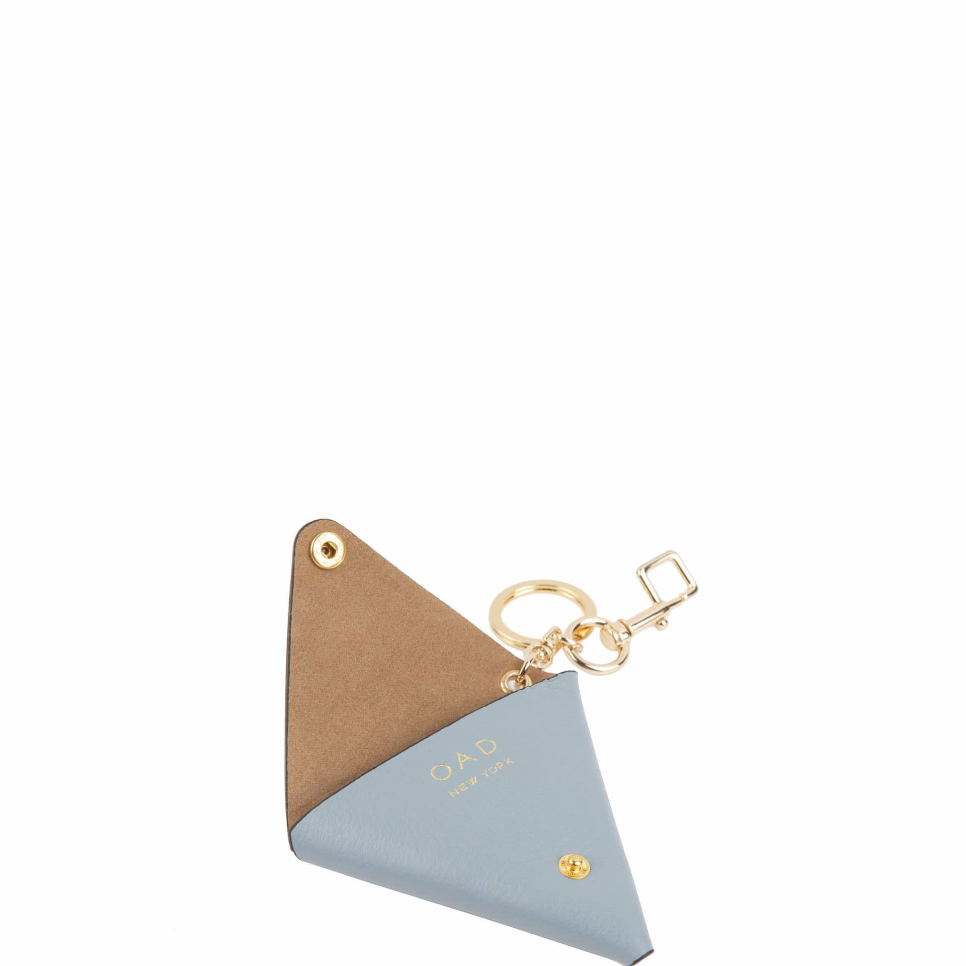 Triangle Key Ring - Powder Blue - OAD NEW YORK - 2