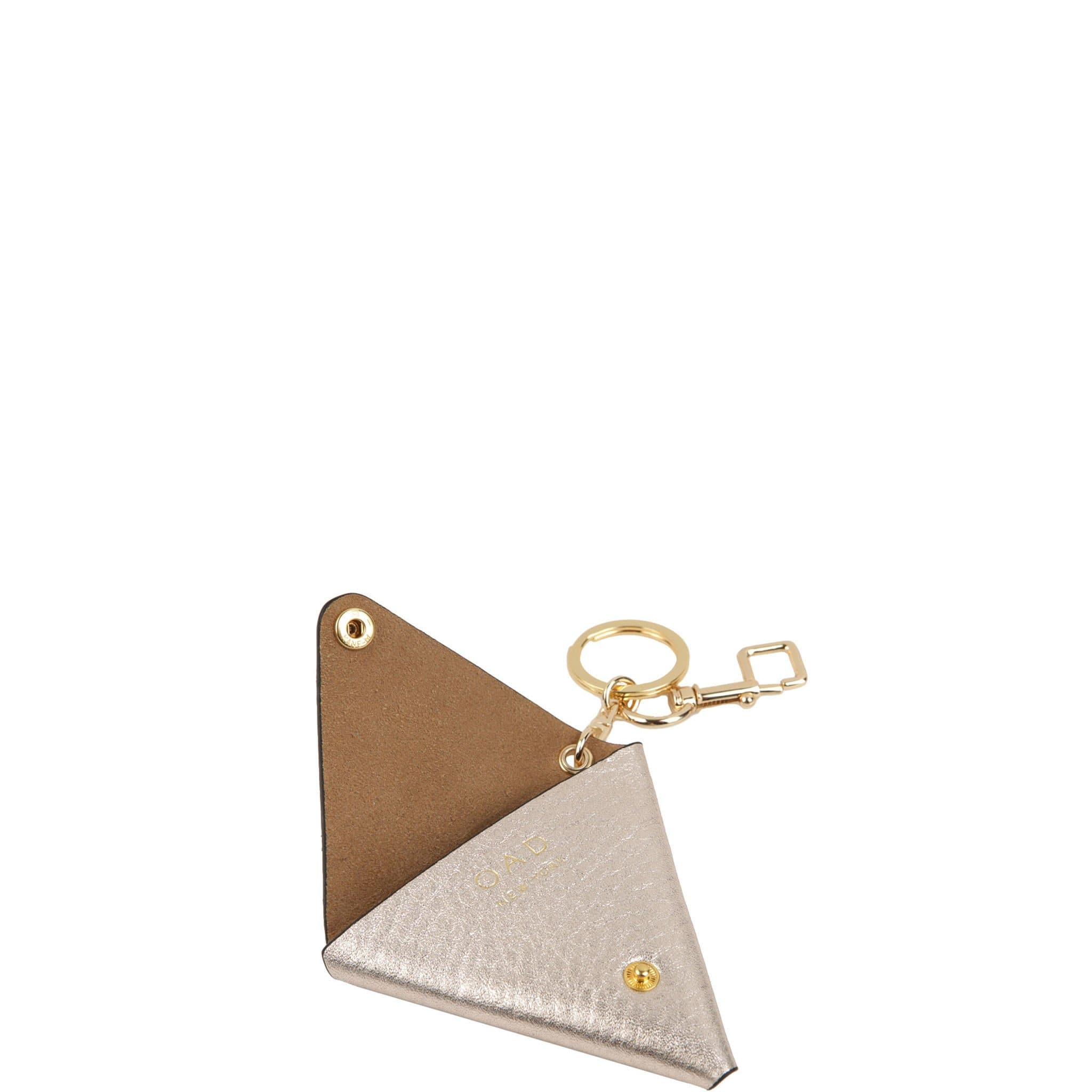 Triangle Key Ring - Rose Gold - OAD NEW YORK - 2