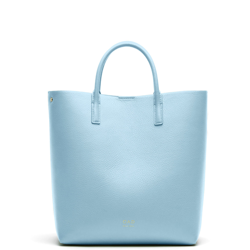 Tall Carryall Tote - Baby Blue