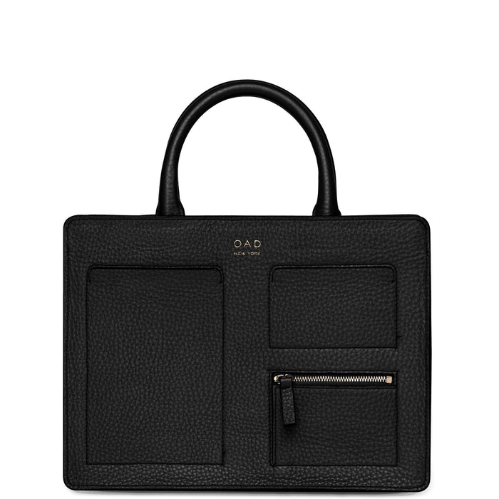 Kit Zip Satchel - True Black - OAD NEW YORK