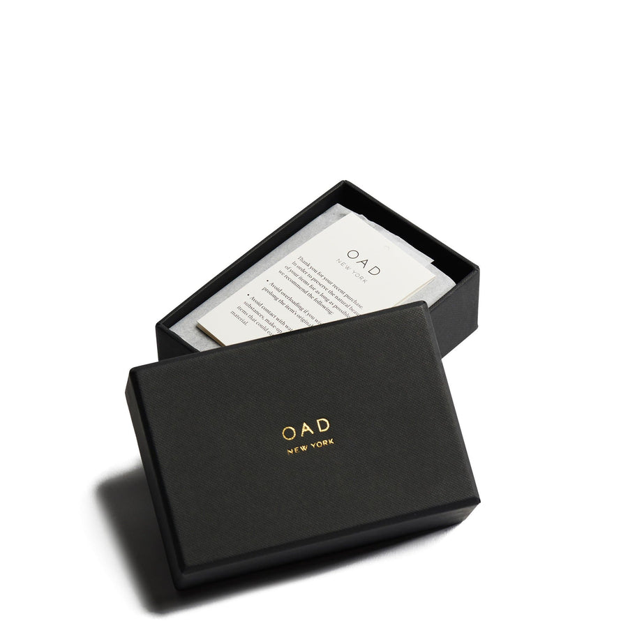 Mini Zip Around Wallet - Dark Wine - OAD NEW YORK