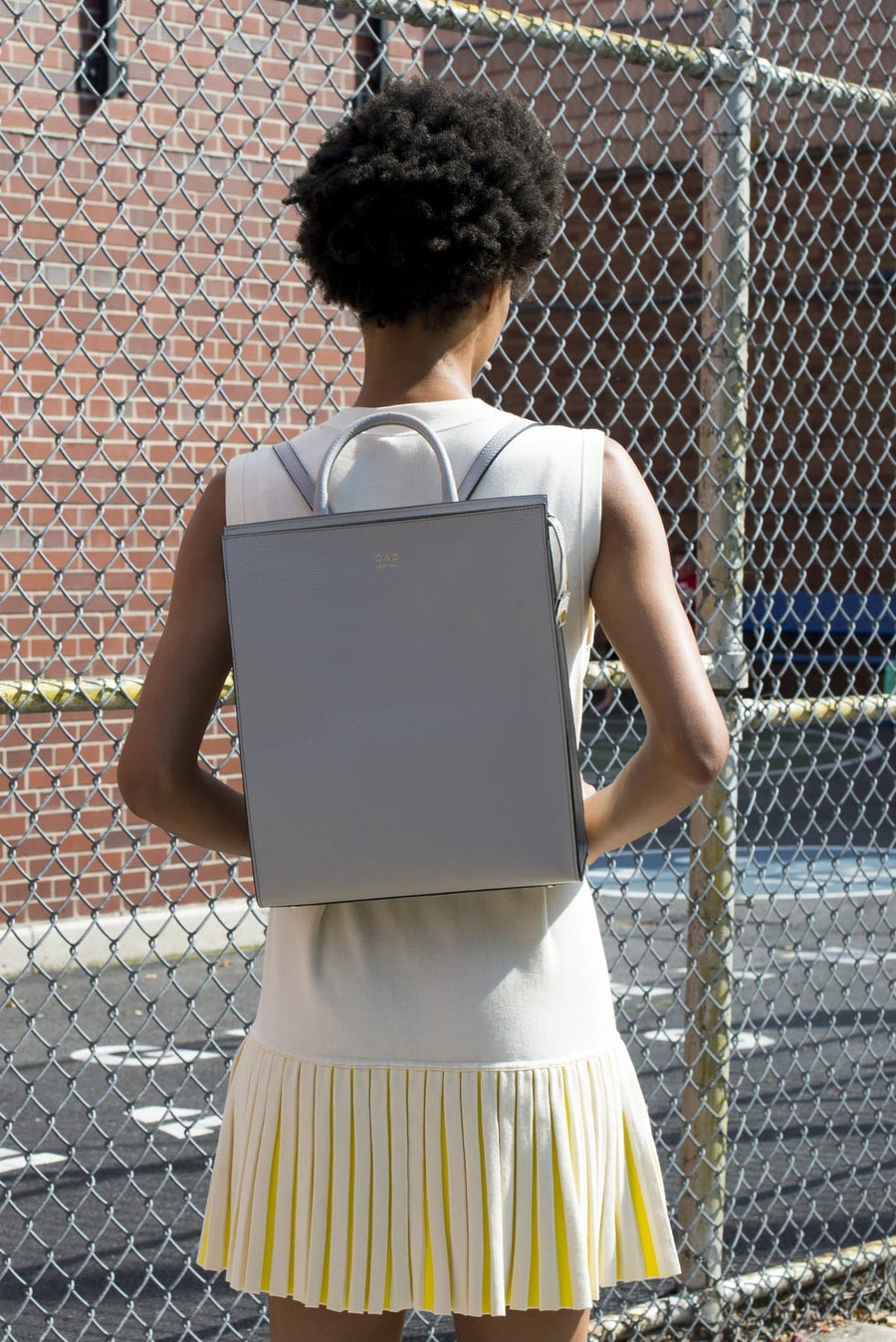 Arc Backpack - Cool Grey - OAD NEW YORK