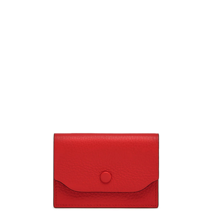Billy Card Case - Classic Red - OAD NEW YORK