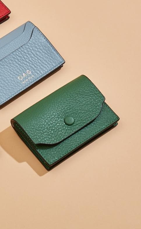 Billy Card Case - Fern - OAD NEW YORK