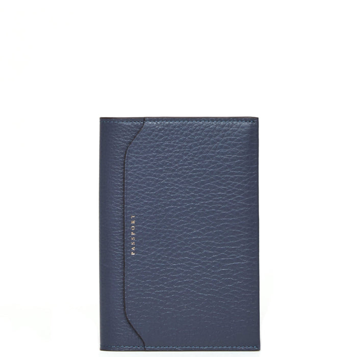 Billy Passport Case - Midnight Blue - OAD NEW YORK