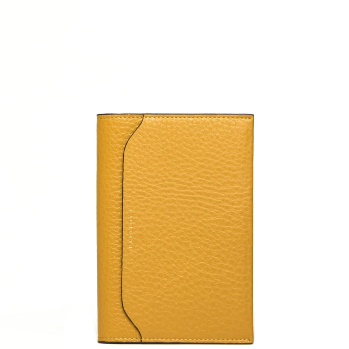 Billy Passport Case - Ochre - OAD NEW YORK