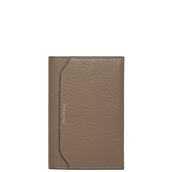 Billy Passport Case - Porcini - OAD NEW YORK