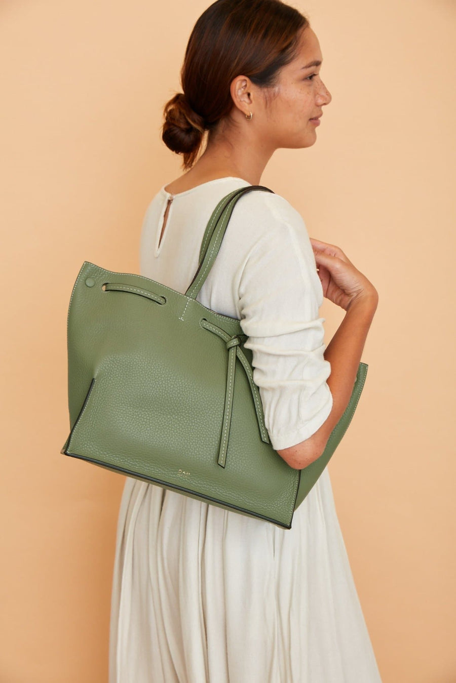 C Edie Bag - Olive - OAD NEW YORK