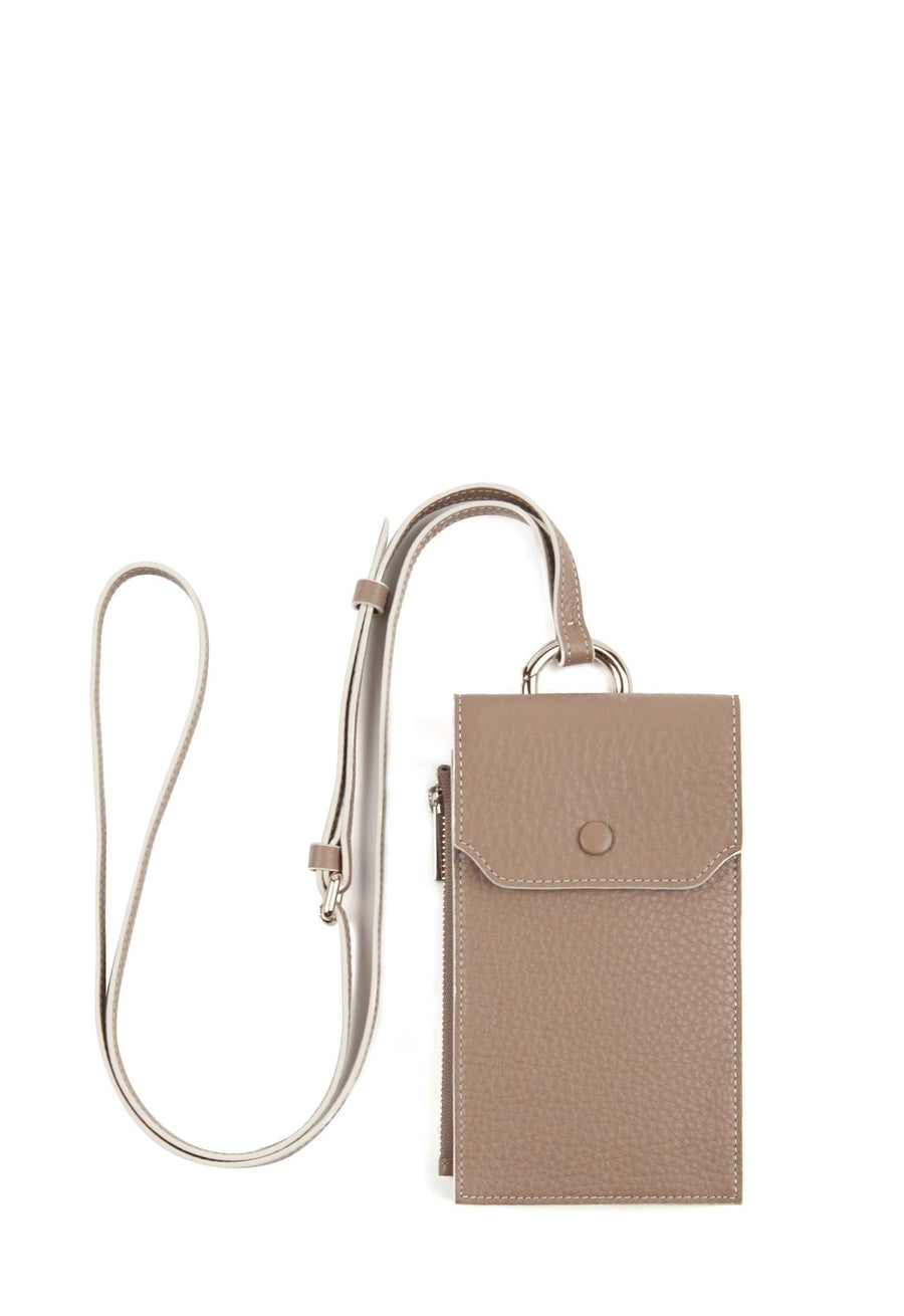 C Izzi Phone Crossbody - Mocha - OAD NEW YORK