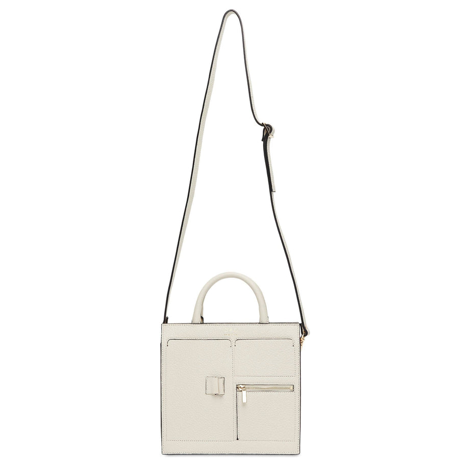 C Mini Kit Zip Satchel - Creme - OAD NEW YORK