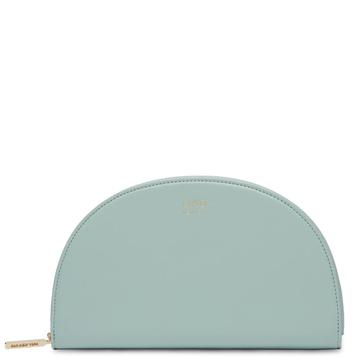 Calf Dia Continental Mirror Wallet - Cloud Blue - OAD NEW YORK