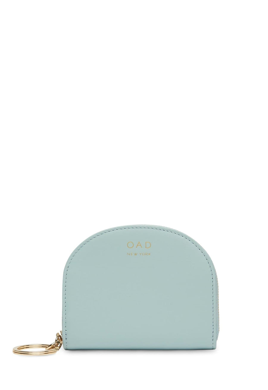 Calf Dia Mini Mirror Wallet - Cloud Blue - OAD NEW YORK