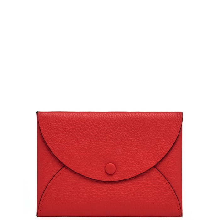 Envelope Wallet Clutch - Classic Red - OAD NEW YORK