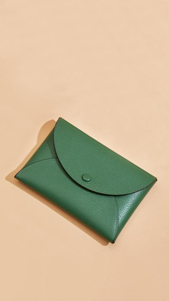 Envelope Wallet Clutch - Fern - OAD NEW YORK